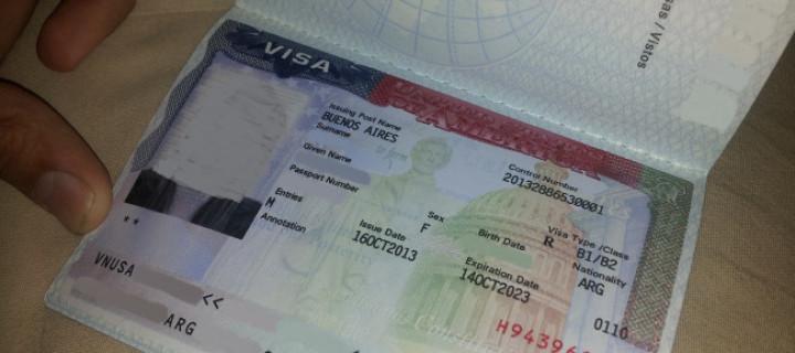 Cómo tramitar la Visa de USA