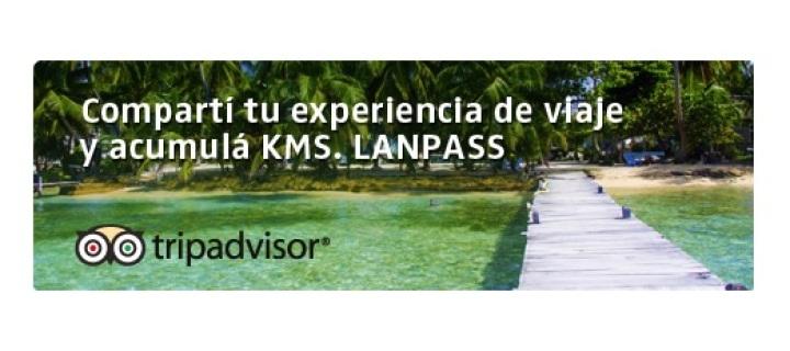 Tips para sumar KMS LANPASS con TripAdvisor