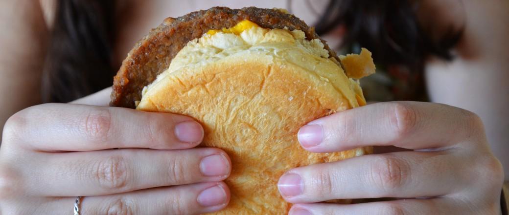 Comiendo en Cataratas del lado brasilero