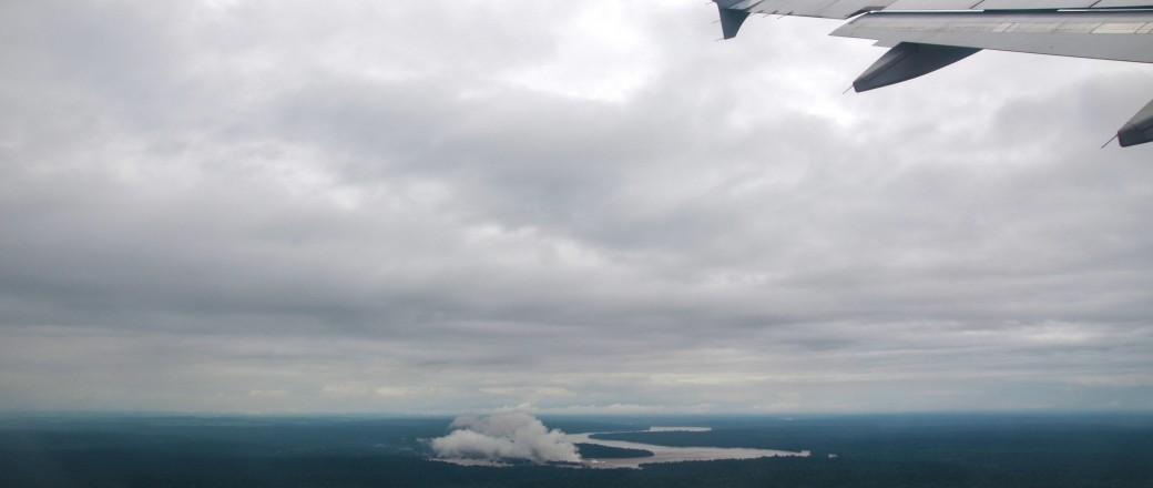 Vuelo LA4033 de regreso de Iguazú