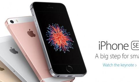 Apple lanzó el Iphone SE